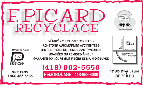 picard recyclage